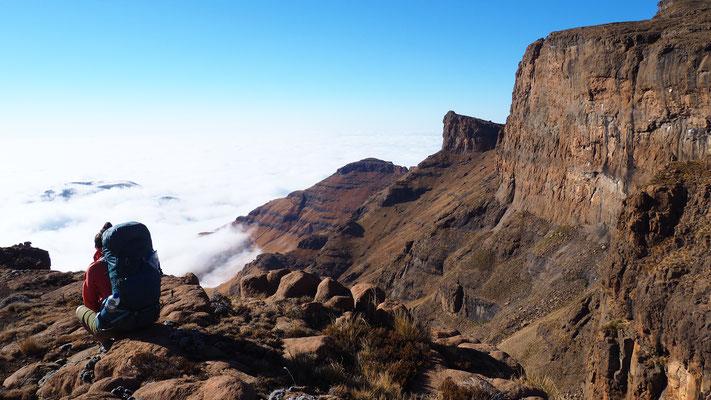 Entre le Sani et Sehlabathebe ; Lesotho. Voyage Maxime Lelièvre