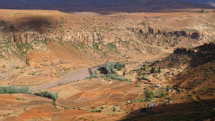 Malealea ; Lesotho. Voyage Maxime Lelièvre