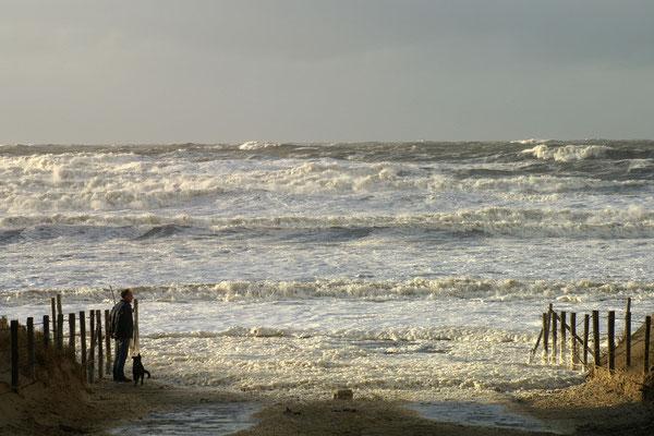 12 Storm aan zee