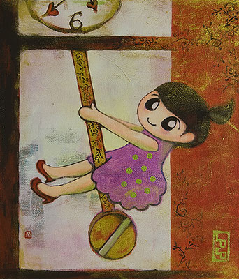 2012, 53.0 x 45.6 cm, 無題 (Untitled), Acrylic on canvas