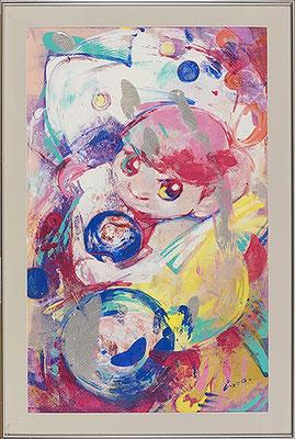 2007, 80.0 x 50.0 cm, 無題 (Untitled), Acrylic on canvas