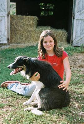 © Louison et son chien Blacky
