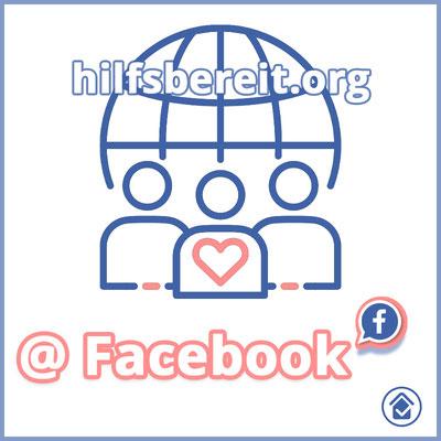 hilfsbereit.org - Hilfe und Profil Logo Facebook