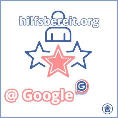 hilfsbereit.org - Dienstleistungen und Profil Logo Google Business
