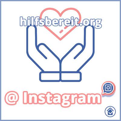 hilfsbereit.org - Dienstleistung und Profil Logo Instagram inkl. Link
