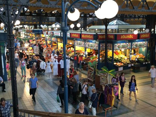 Der Markt in Budapest