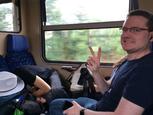 Im Zug nach Revfülöp