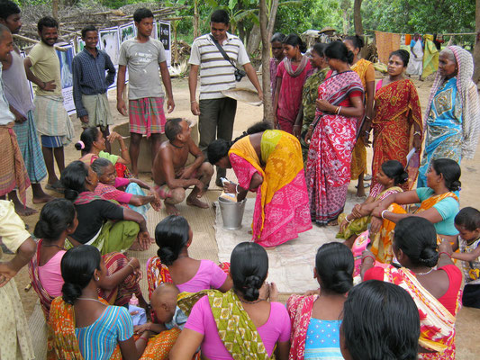Learning through experiment in a tribal village