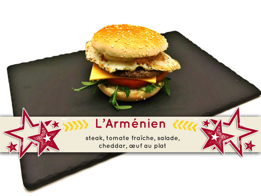 Mister Burger Fréjus - Arménien