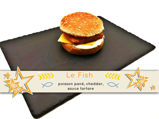 Mister Burger Fréjus - Fish