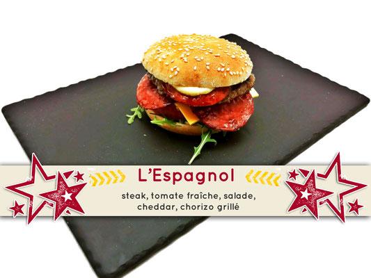 Mister Burger Fréjus - Espagnol