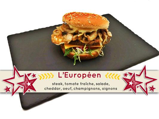 Mister Burger Fréjus - Européen