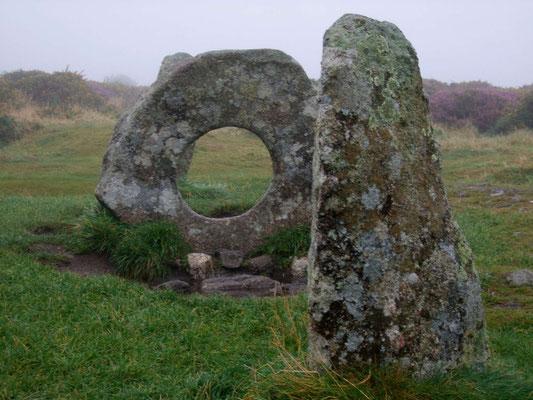 Men-An-Tol, keltische Hinterlassenschaften in Cornwall