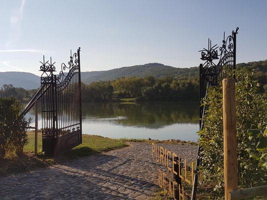 Schloss Lieser Blick auf die Mosel Bild: My own Travel