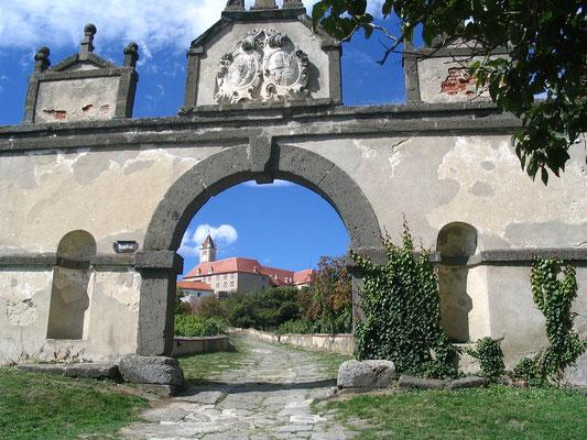 Tor zur Riegersburg in der Steiermark
