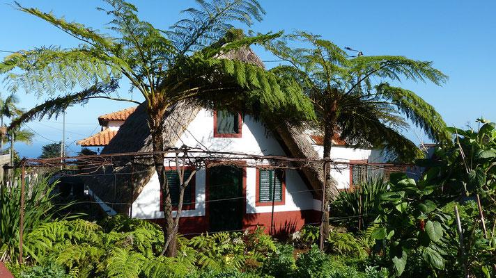Häuser auf den Azoren