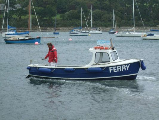 """Fähre"" in Helford, Cornwall"