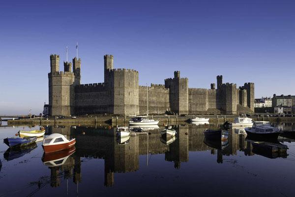 Caernafon Castle © Visit Wales