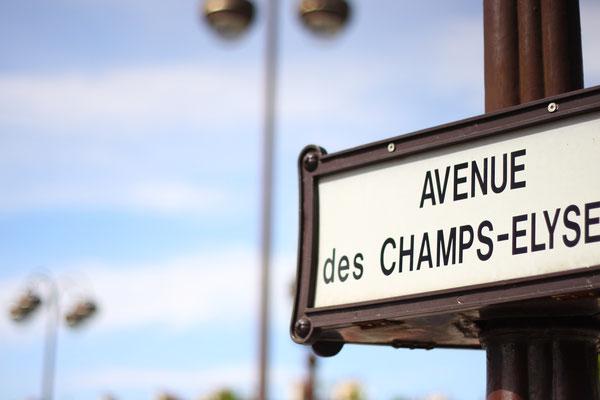 Champs Élysée, Paris