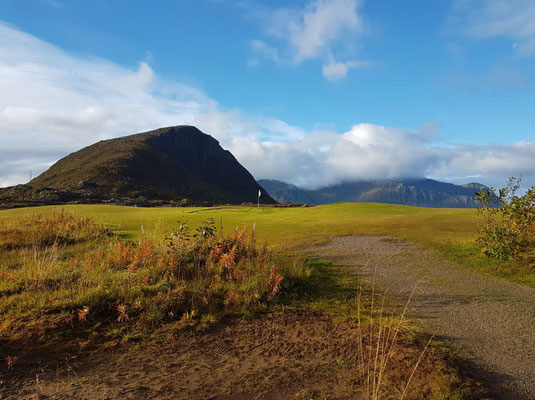 Lofoten Links - nördlichster Links-Golfplatz Europas