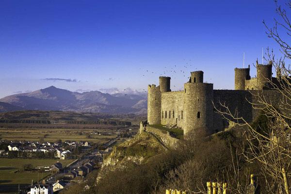 Castle Harlech © Visit Wales