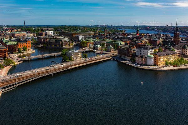 Hafen von Stockholm, Schweden