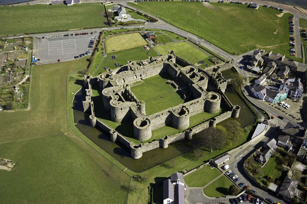 Beaumaris Castle © Visit Wales