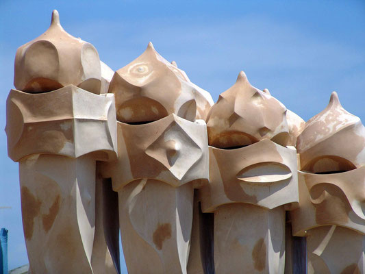 Barcelona - Gaudi-Kunst