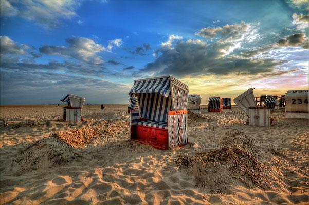 Strandkorb, Nordsee