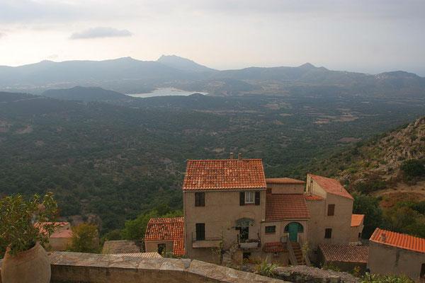 Korsika, Hinterland