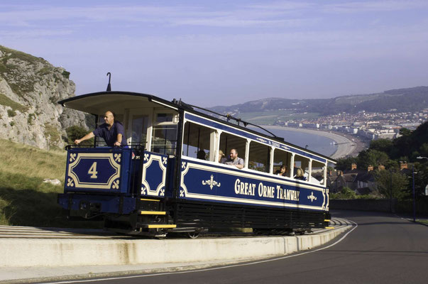 Great Orme Tramway © Visit Wales