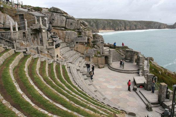 Minack Theatre in Cornwall