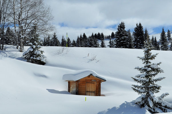 Winter im Trois Valées