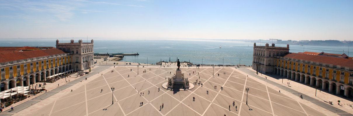 Praça do Comércio, Lissabon