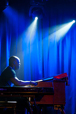 Keyboard bei Johny Lang