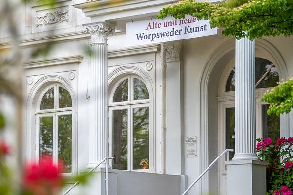 Die Galerie Cohrs-Zirus in der Bergstraße.
