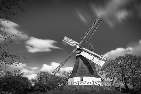 Immer wieder ein beliebtes Fotomotiv: die Worpsweder Mühle.