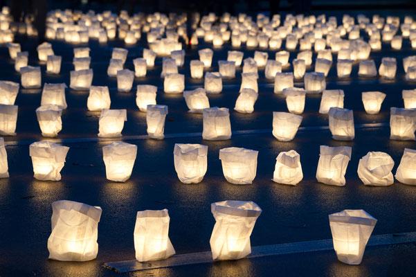 Ein besonderer  Abend - nicht nur für Kinder: das Lichterfest in der Worpsweder Bergstraße