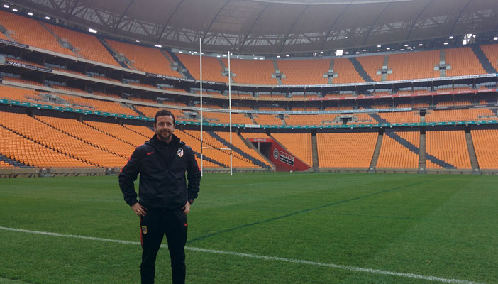 Soccer City Stadium. Johannesburg (South Africa)