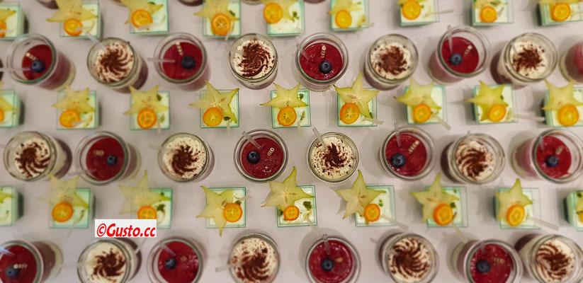 Dessertauswahl