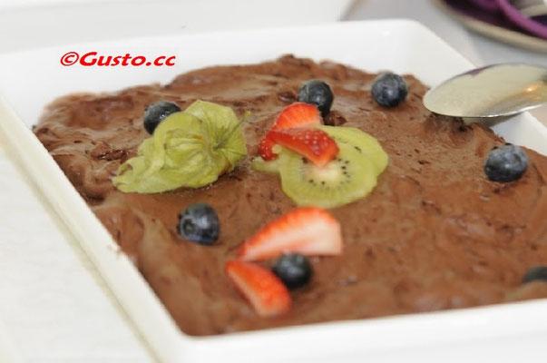 Mousse auch chocolat