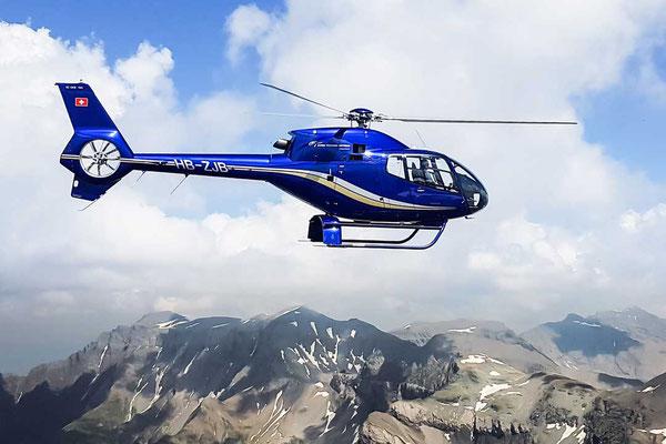 Swiss Skyways Helikopter