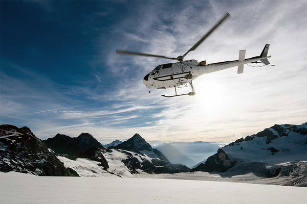 Alpenrundflug mit Fuchs Helikopter ab Schindellegi