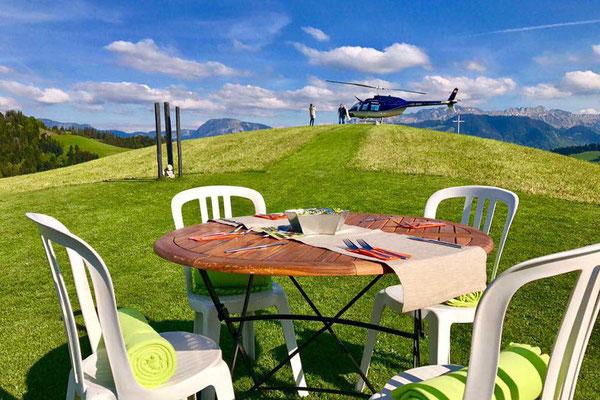 Helikopterlandeplatz Schwesternegg