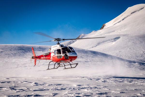Helikopterlandung