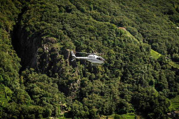 Helikopter Rundflug Tessin Lodrino
