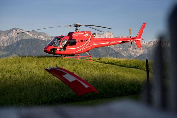 Die Schweiz aus besonderem Blickwinkel