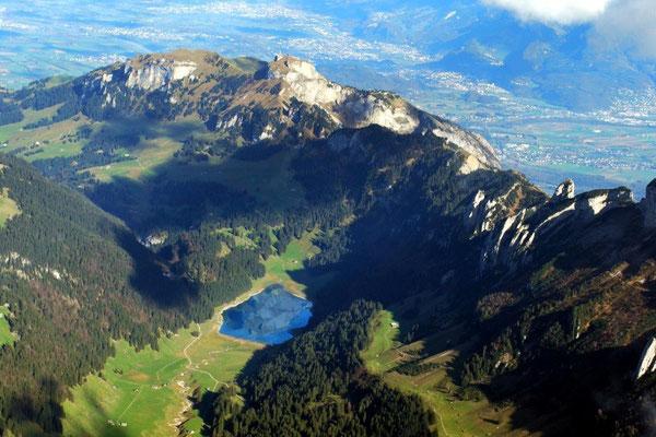 Säntis Rundflug  ab St. Gallen Altenrhein