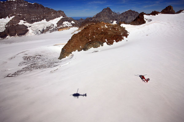 Helikopter Rundflüge ab Gstaad