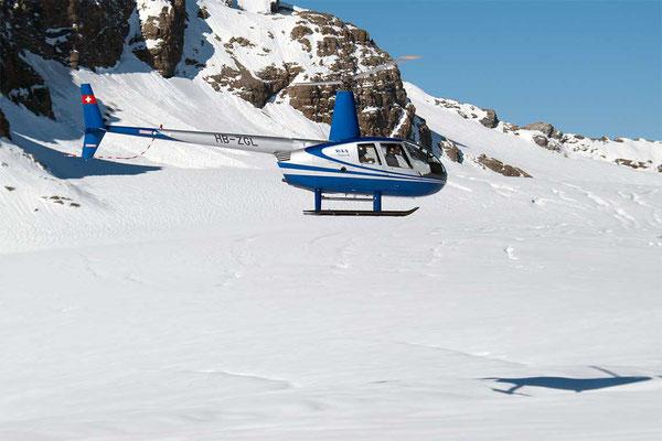 Alpenrundflug ab Balzers